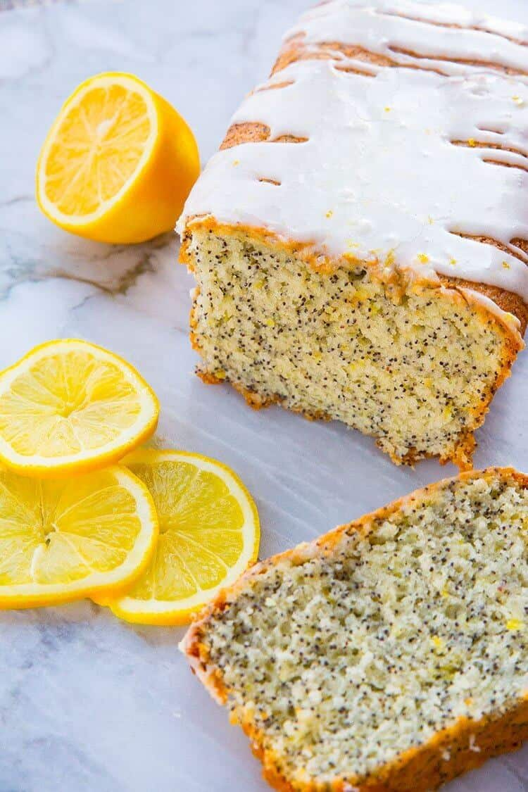 Lemon Vodka Cake Glaze